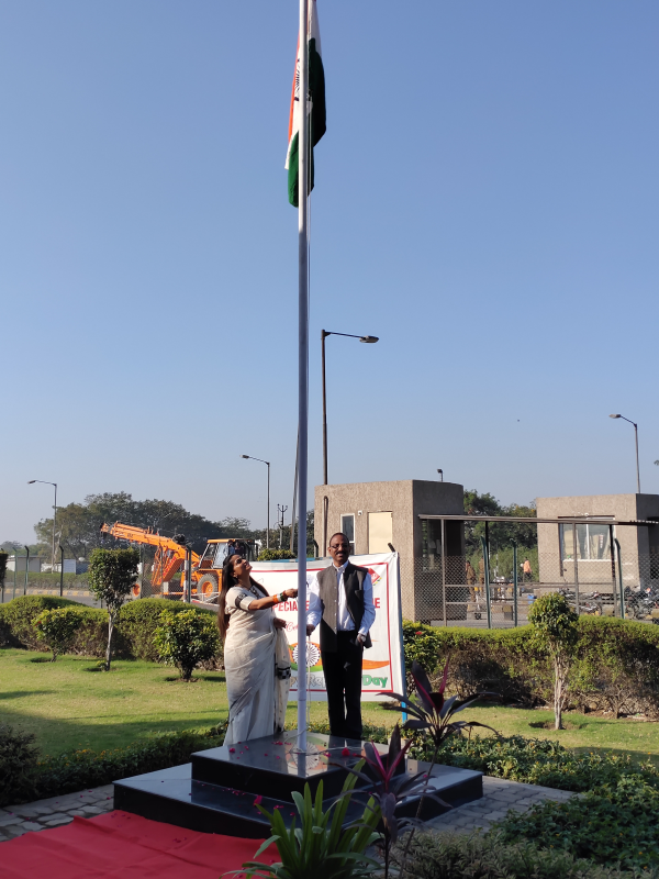 71st Republic Day celebration at Dahej SEZ 2