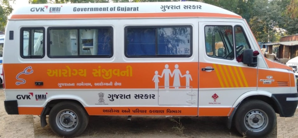 Donation of Sanjivani Mobile Health Unit by Dahej SEZ Ltd. under CSR