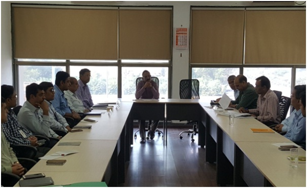 Review meeting with SEZ units under the Chairmanship of Development Commissioner, Dahej SEZ