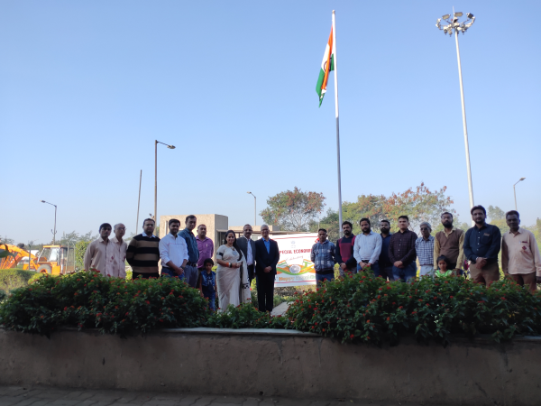 71st Republic Day celebration at Dahej SEZ 1