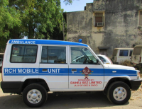 Donated Mobile Ambulance to Health Dept., Bharuch under CSR