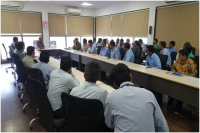 Review meeting with SEZ units under the Chairmanship of DC, Dahej SEZ